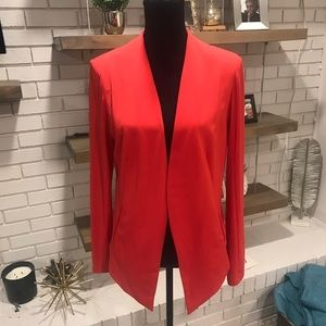 BCBGeneration NWT Tuxedo Blazer, Cardinal Red, Lrg